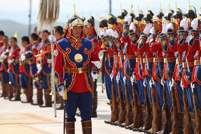 Top Military Dresses of the World