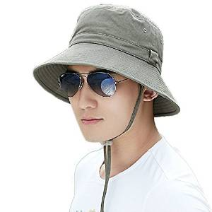 d030c8c42c1 Siggi Bucket Boonie Cord Golf Hat Fishing Hiking Cap Cotton. Best Army  Bucket Hats for Men ...