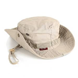 53f5a5d5ed3 Pellor Boonie Bucket Hat Military Fishing Camping Hunting Wide Brim Bucket  Men Outdoor Cap