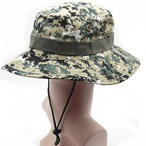 d56820b51fc TrendBox Camo Military Boonie Sun Bucket Hat Unisex Cap For Sports Camping Fishing  Hiking Boating Outdoor. Best Army Bucket Hats for Men and Women