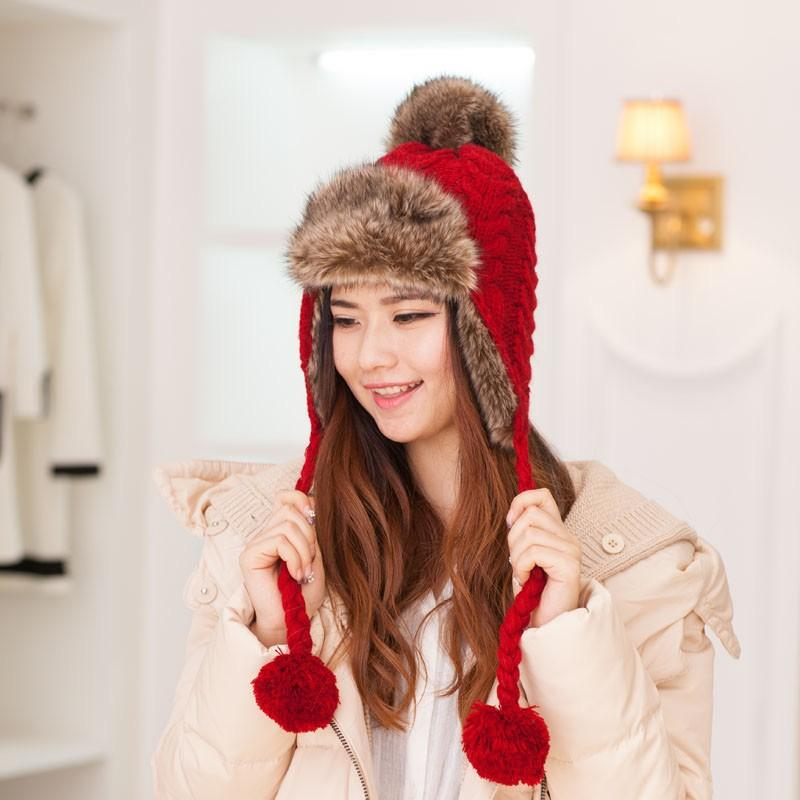 Cheap bomber hat, Buy Quality winter bomber hat directly from China russian women Suppliers: Girls Winter Bomber Hats Solid Russian Women Headgear Real Fox Fur Hat Female Winter Caps Hats New Girls Real Fur Headband Enjoy Free Shipping Worldwide! Limited Time Sale Easy Return.