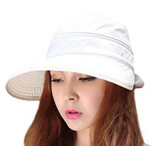 IL Caldo Womens Bow Sun Hats Large Brim Sun Visor Hat cdc3391ceea