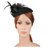 Pillbox Hat With Veil 1