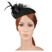 Pillbox Hat With Veil 1