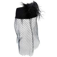 Pillbox Hat With Veil 2