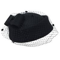 Pillbox Hat With Veil 4