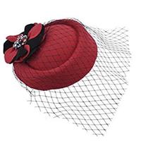 Pillbox Hat With Veil 5