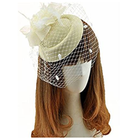 Pillbox Hat With Veil 6