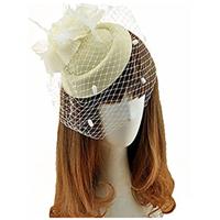 Pillbox Hat With Veil 6