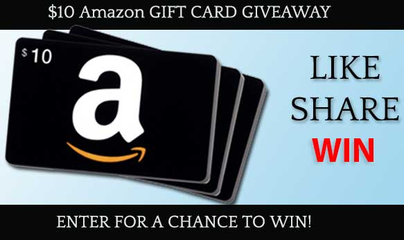 Facebook contest like share win amazon gift card