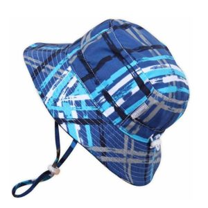 Baby Bucket Sun Hat with Chin Strap
