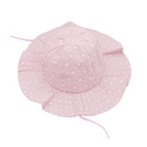Infant Wide Brim Summer Hat - Sun Protection