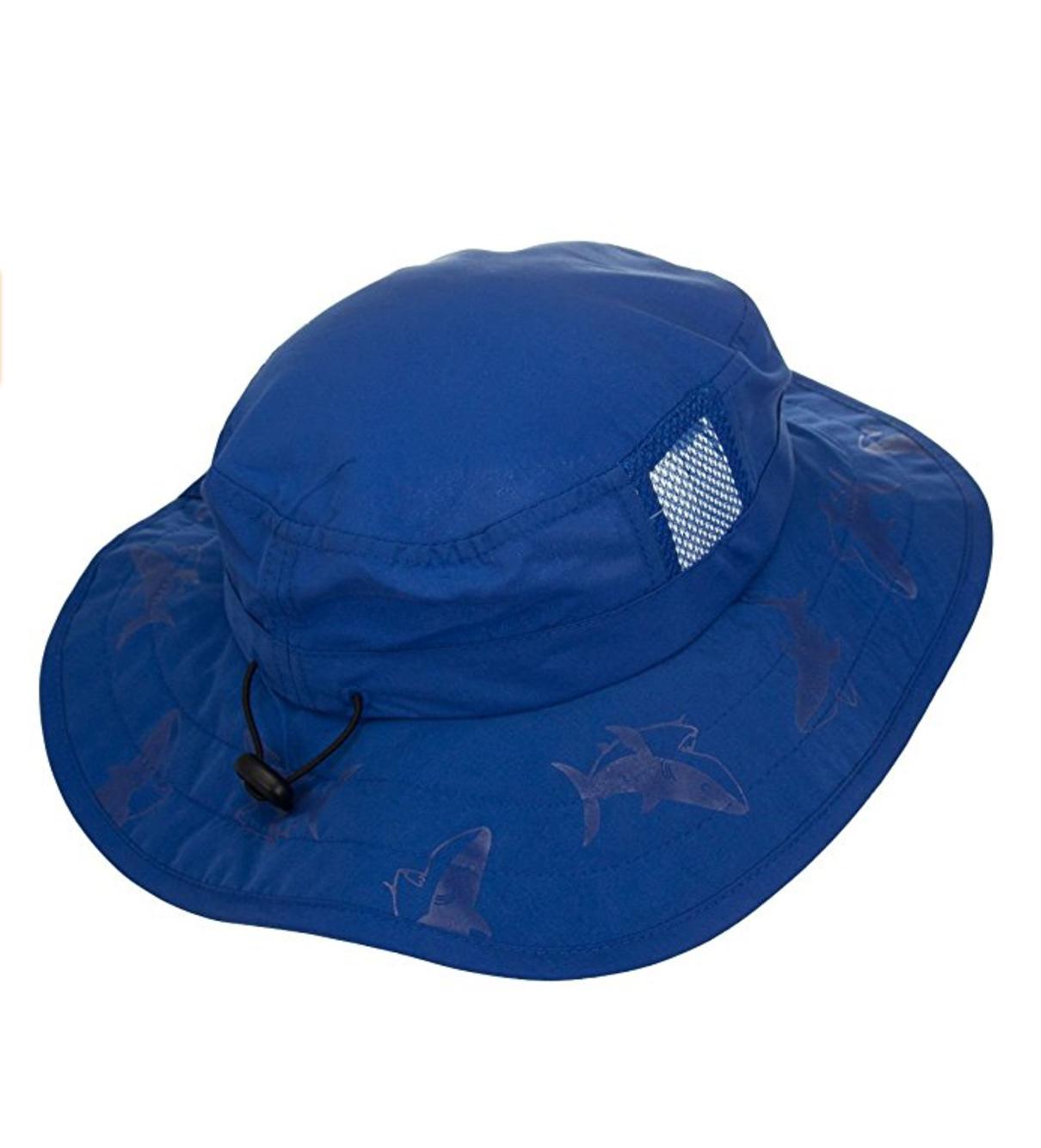 Kids Safari Hat Sun Protective Zone UPF 50+ Child Block UV Rays Shade