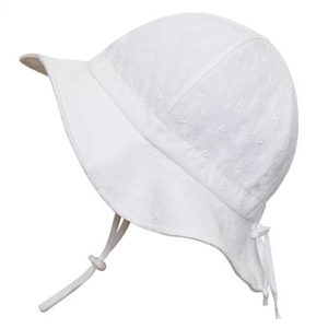 Baby Toddler Kids Sun Hat with Chin Strap, Adjustable Head Size