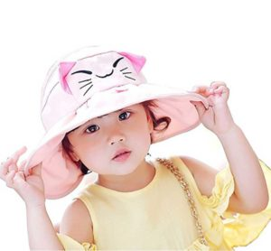 Toddler little girls summer cool sun hat
