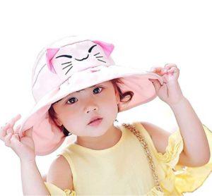 Toddler little girls summer cool sun hat