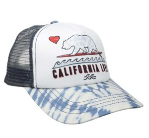 billabong girl bali trucker cap