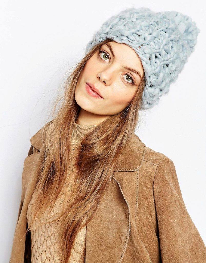 cute knitted hat
