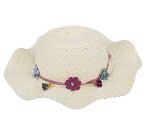 girls summer straw sun hat