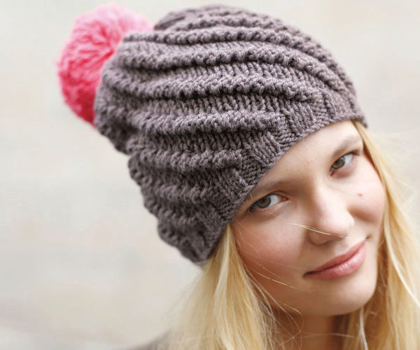 knitted cloak hat