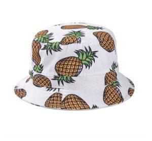 girls head wear pineapple pattern wide rim flat top