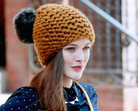 All about - Thick yarn hat for women c748b78c757