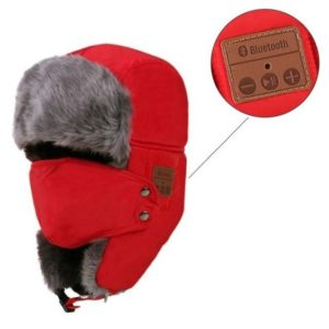 ushanka with bluetooth headset