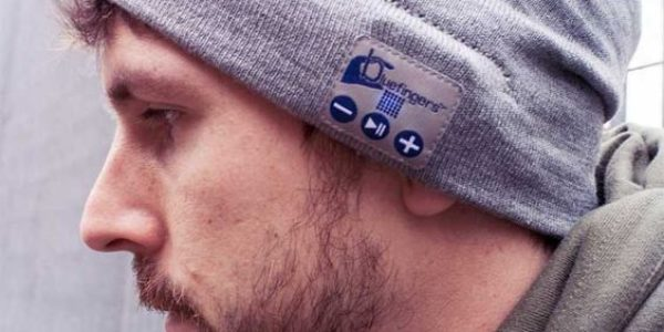 wireless headphones hat for men