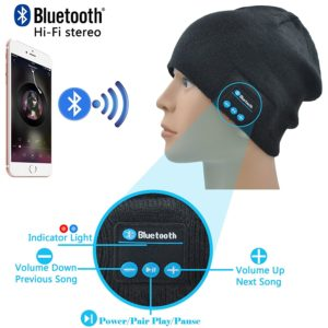 wireless speaker beanie hat options