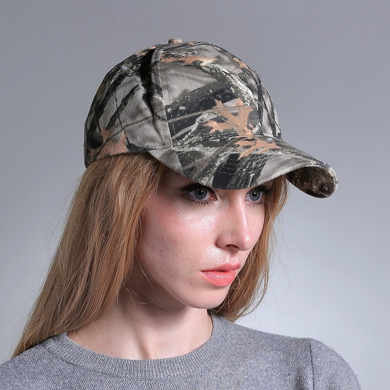 camoflouge baseball caps girls