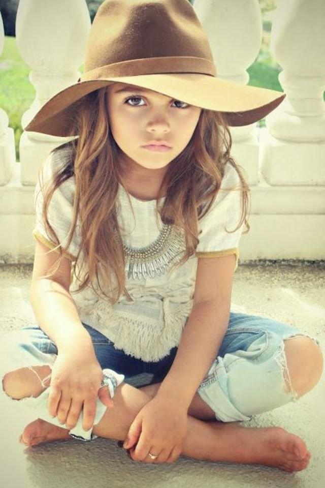 extremely stylish children hat