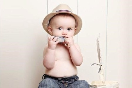 fashionable child summer hats