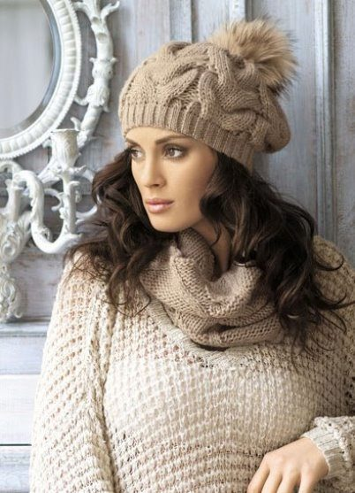 fashionable pompom brand hat