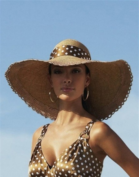 fashionable straw hats for women