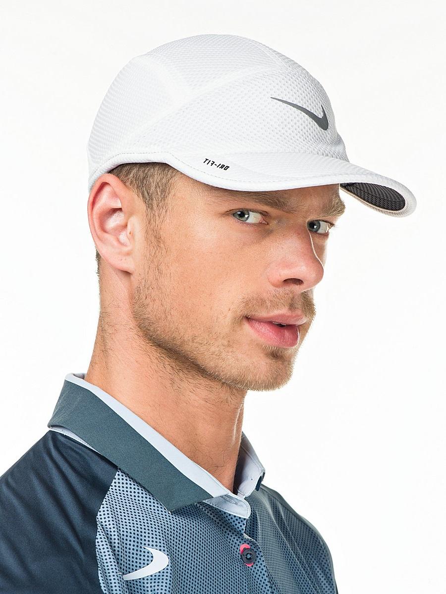 fashionable white baseball cap