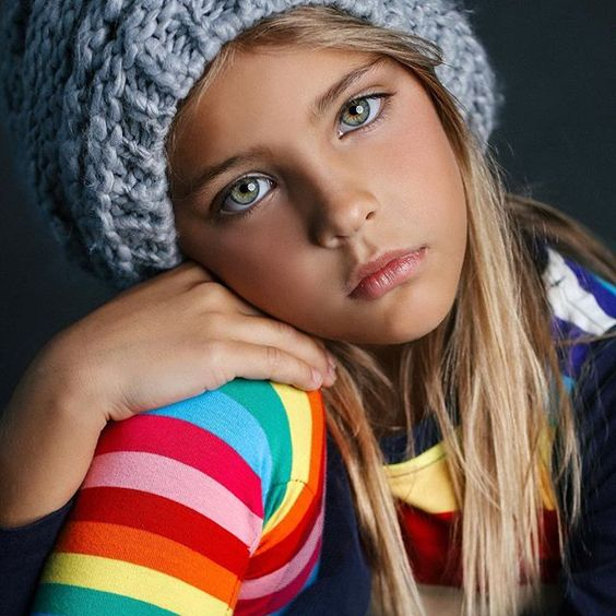 knitted hat for girls