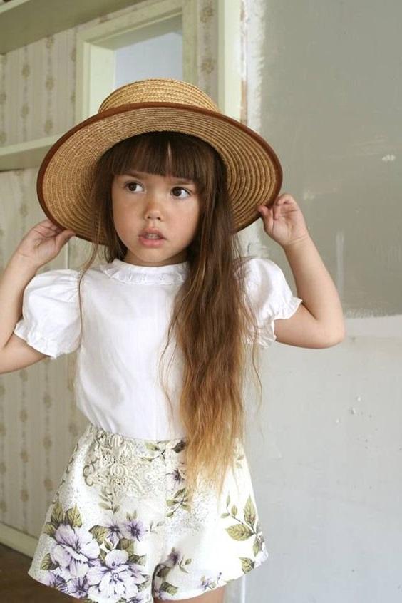 light brown girls hat
