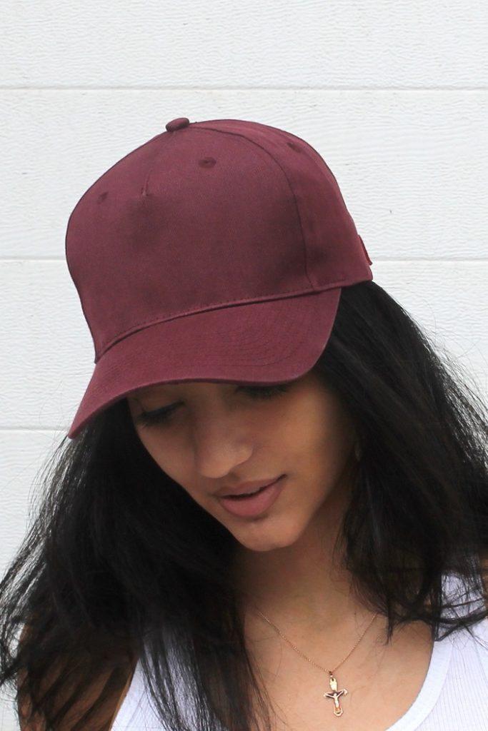 maroon baseball hat 2017