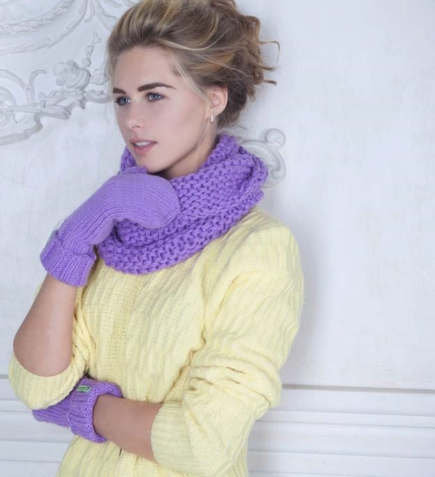 scarf hat 2 in 1 ideal for girls who lead an active lifestyle
