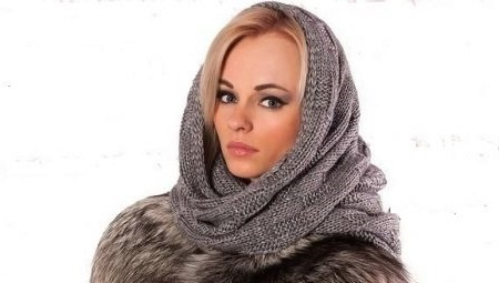 shaped scarf hat for women
