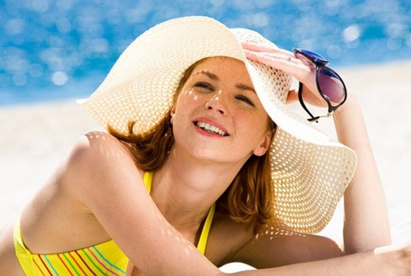 straw hat perfect for beach