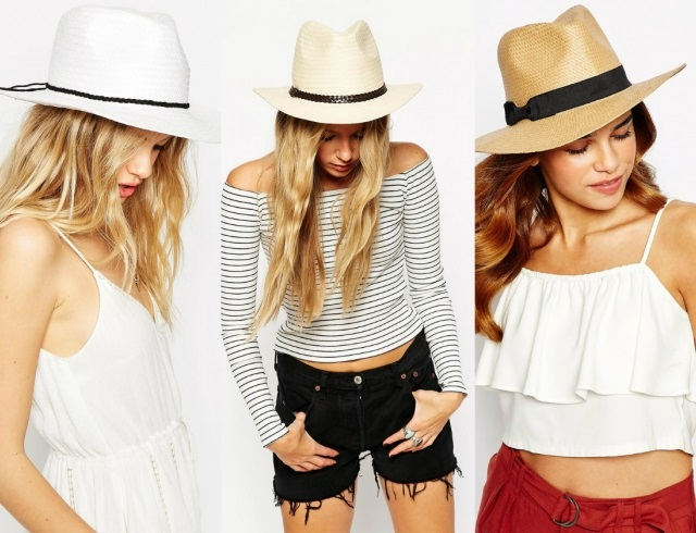 straw hats for romantic dates