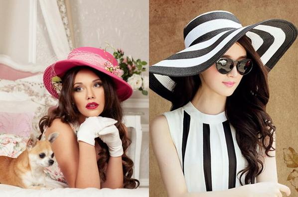 stylish summer women trendy hats 2017