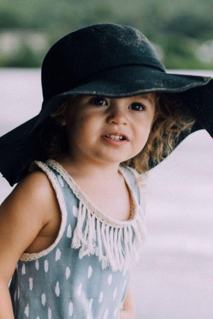 sunny weather children hat