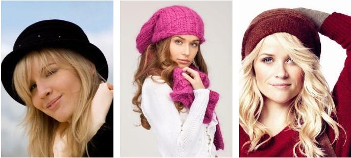 triangle face shape brand hat women