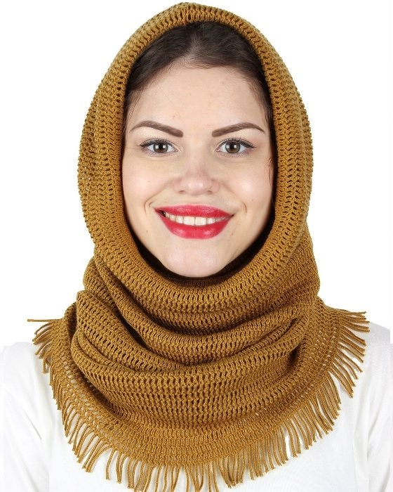 two in one scarf and hat