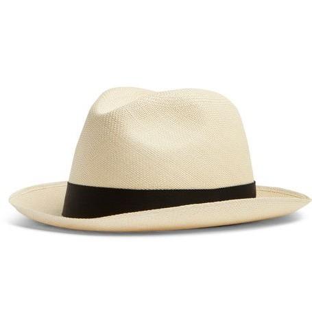 Fedora style panama hat