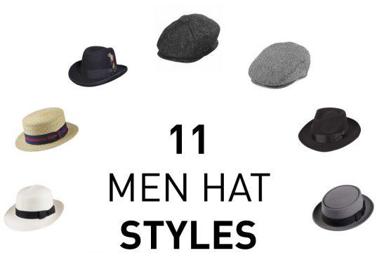 11 Men Hat Styles