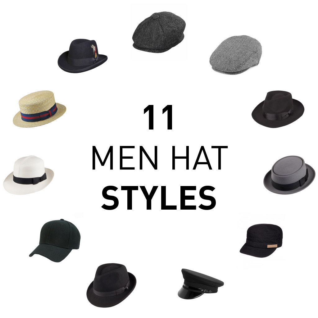 11 Types of Hats for Men 2f94c03f39b9