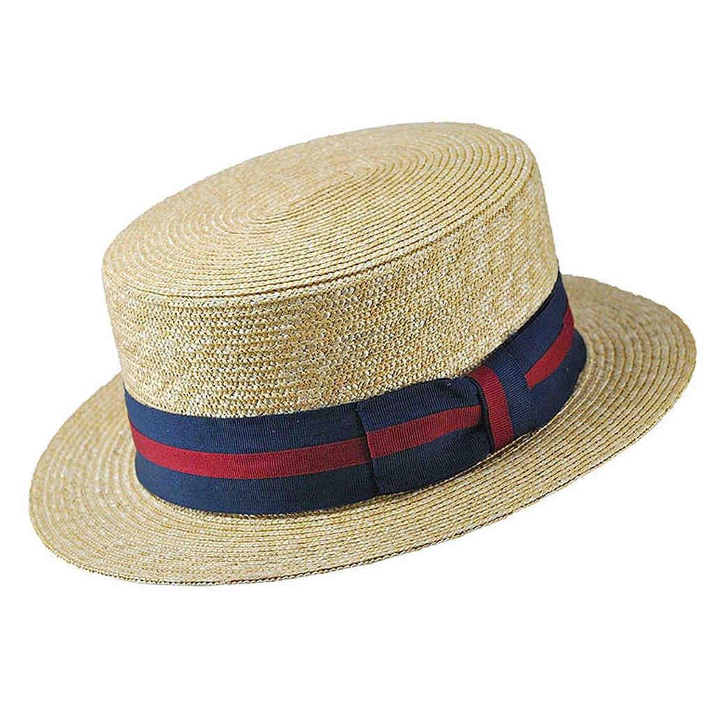 Men's Canotier Hat
